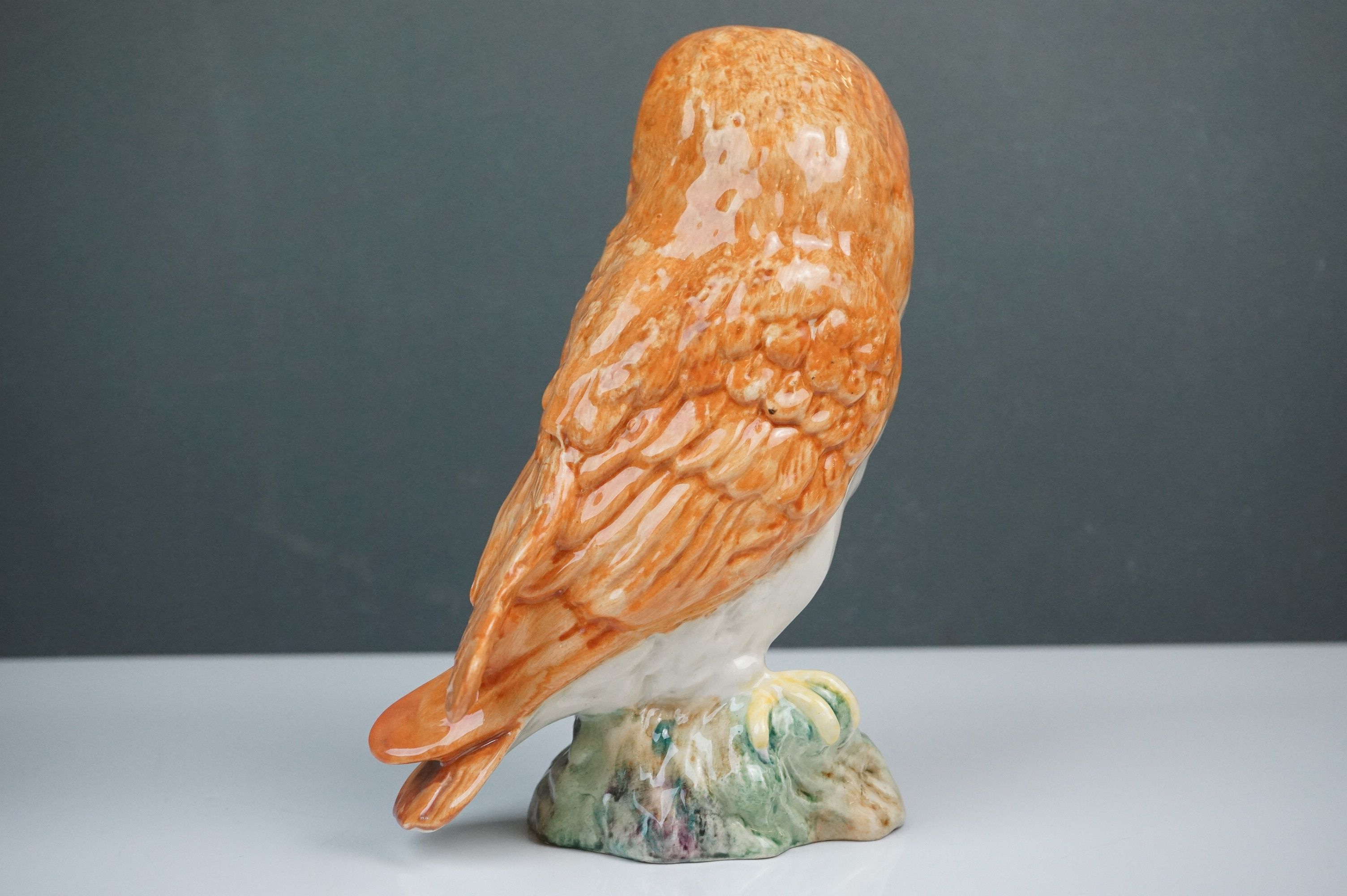 Beswick Eagle on Rock (no. 2307), Beswick Owl (no. 1046a) and Beswick Kingfisher (no. 2371) - Image 10 of 11