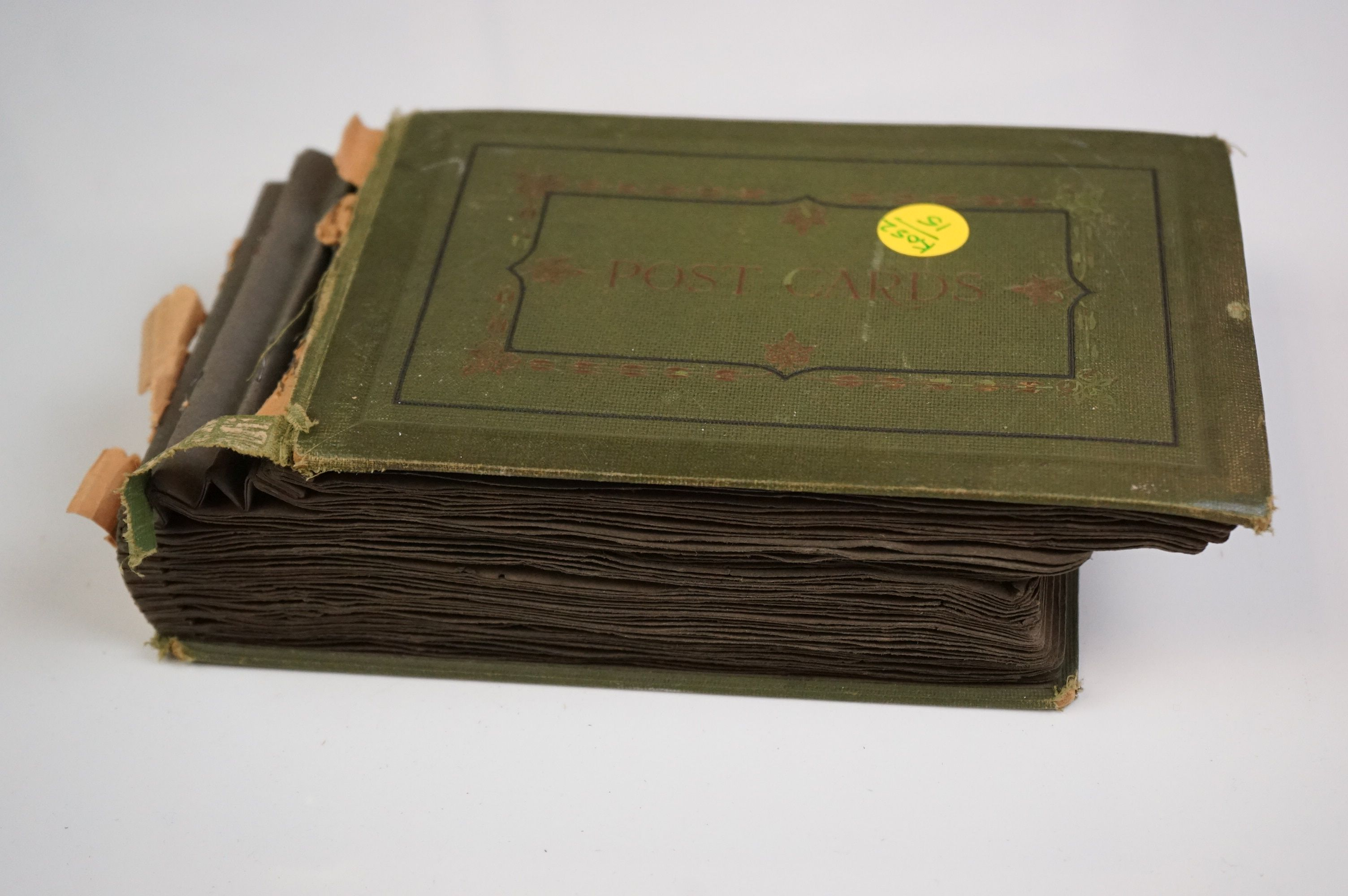 Album containing WW1 photographic postcards of the Royal Medical Corps, many with correspondence & - Image 10 of 13