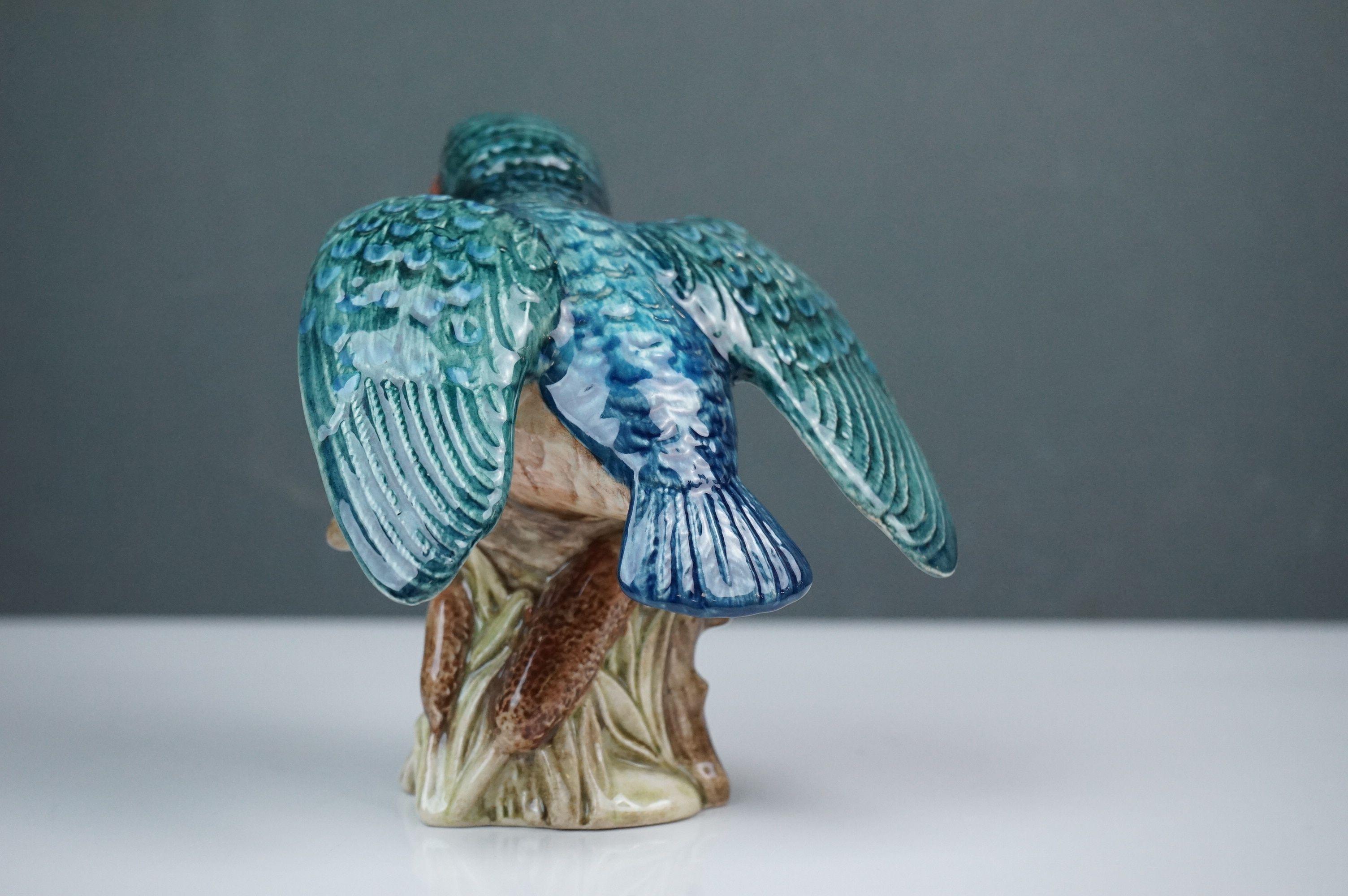 Beswick Eagle on Rock (no. 2307), Beswick Owl (no. 1046a) and Beswick Kingfisher (no. 2371) - Image 7 of 11