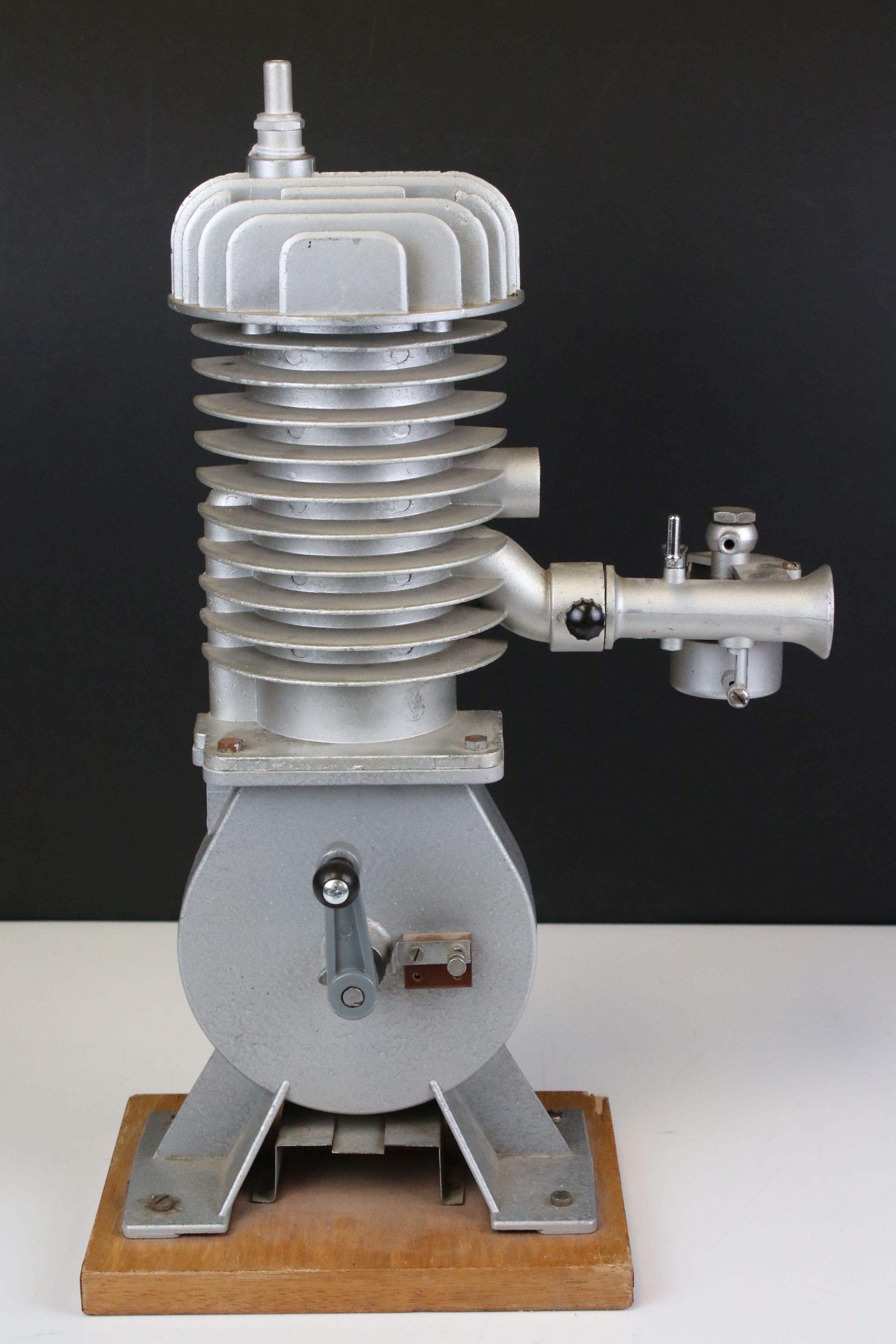 Cast Cut-away Demonstration Model of a Two-stroke Engine by Irwin & Partners Ltd of Croydon, on - Image 2 of 5