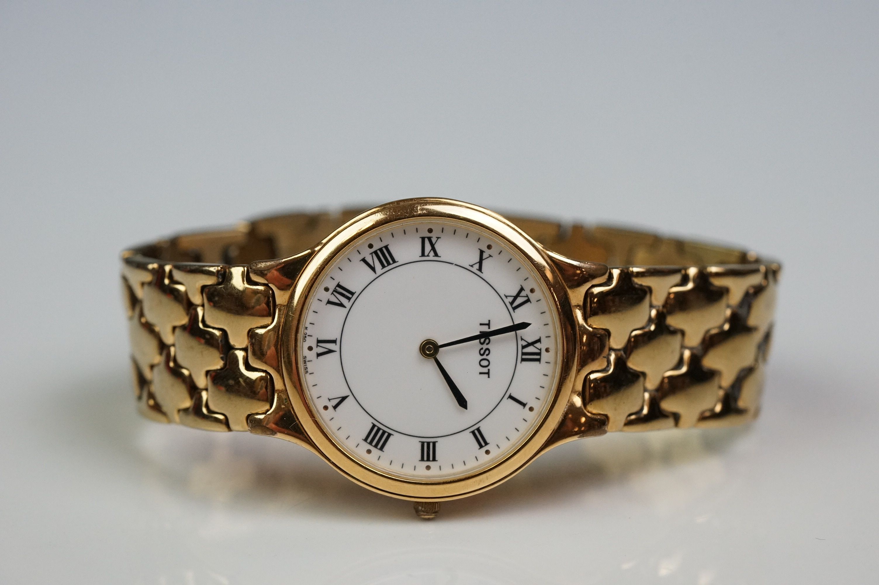 Tissot K250 gold plated dress watch - Image 8 of 10