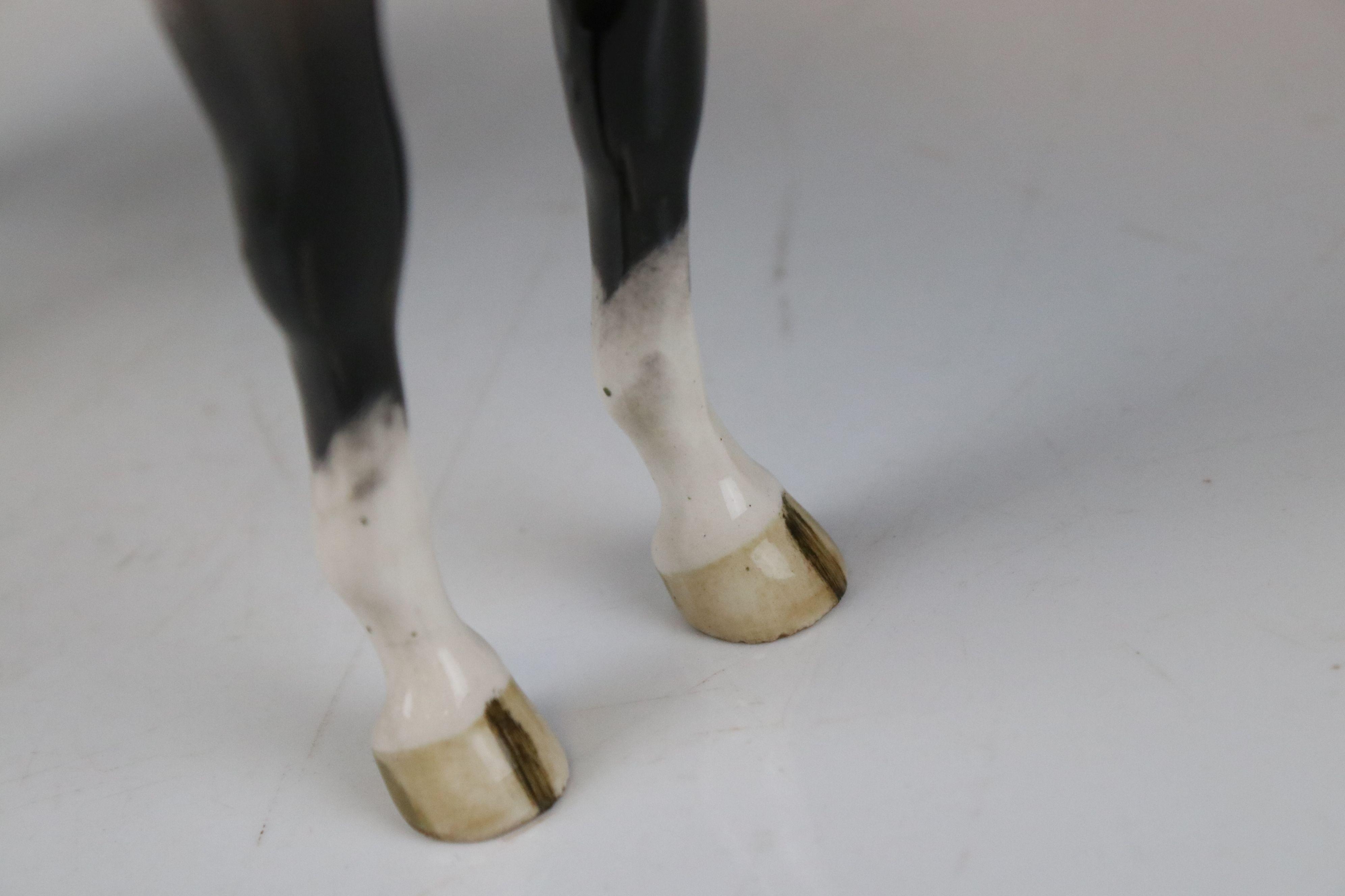 Beswick Skewbald Pinto Pony (first version) (no. 1373) together with a Beswick Appaloosa Stallion ( - Image 11 of 12