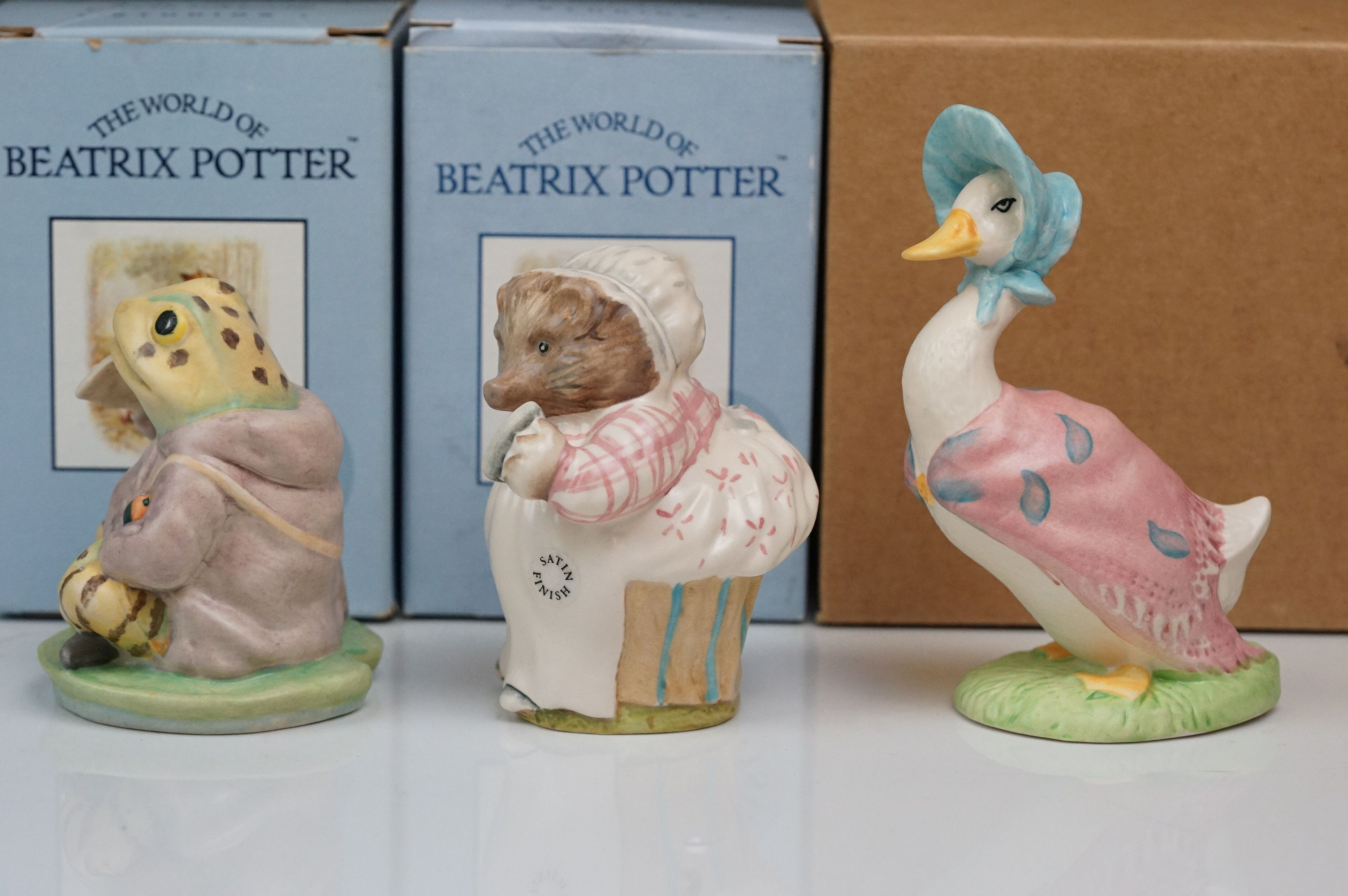 Beswick: the complete set of six satin finish figurines, all with Beswick backstamp 11A; all but one - Image 9 of 11