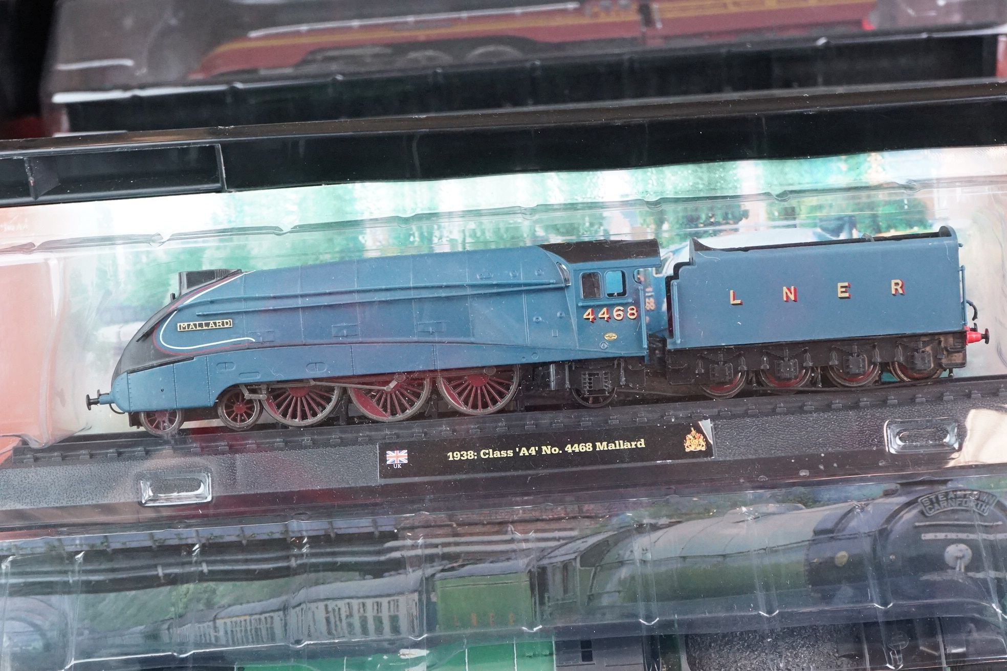 A large collection of railway locomotive models contained within three boxes to include the 1963 - Image 2 of 10