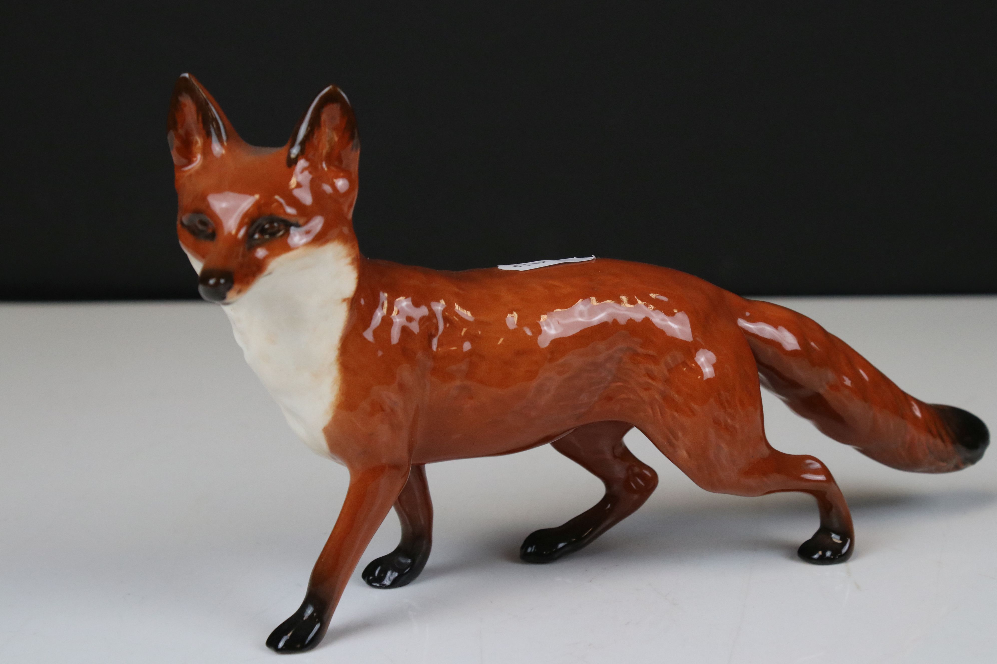 Two Beswick Foxes, (no. 1418 and 1016A) - Image 5 of 9