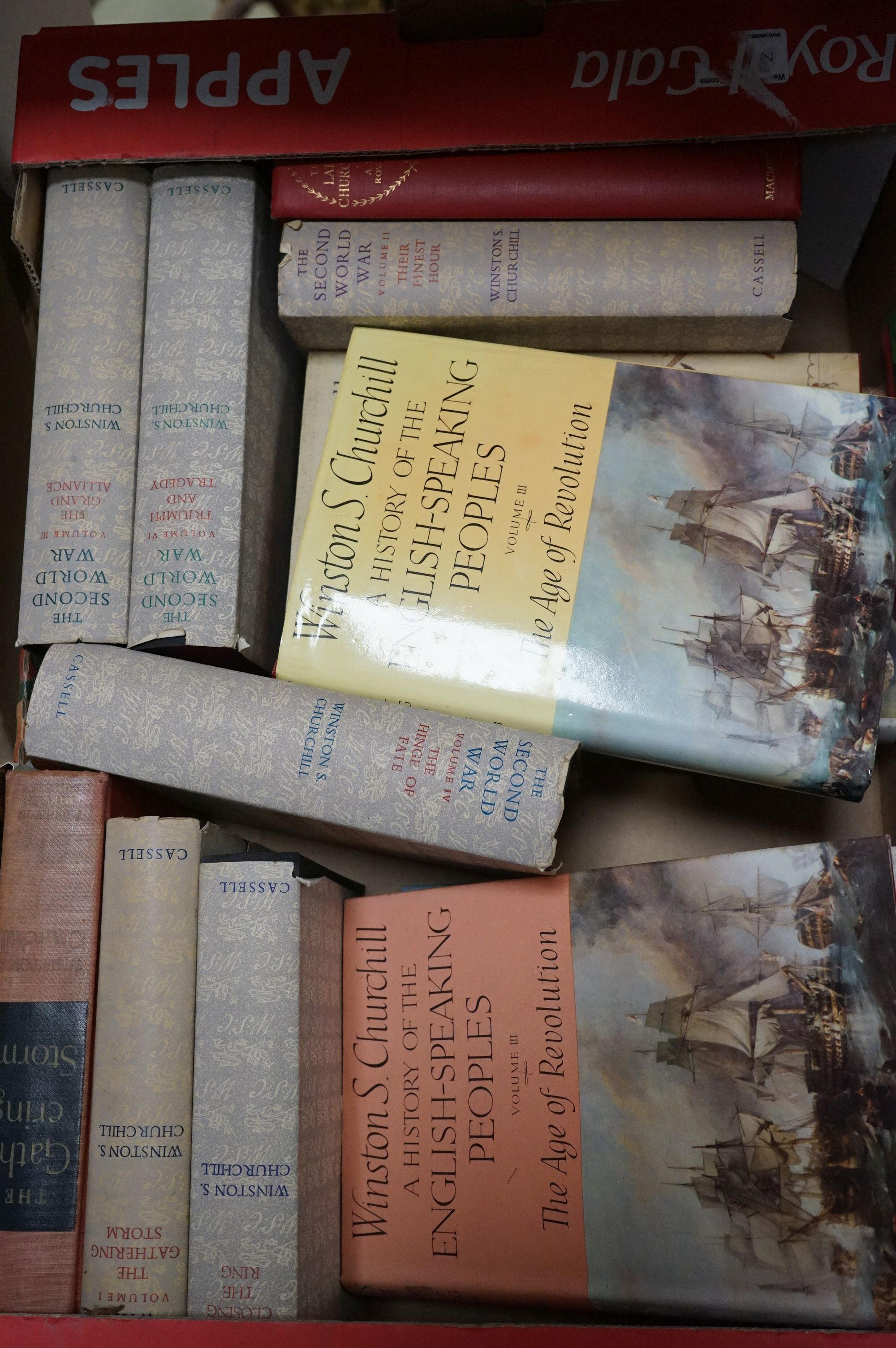 Churchill, Winston, The Second World War, 6 volumes, The History of the English Speaking Union