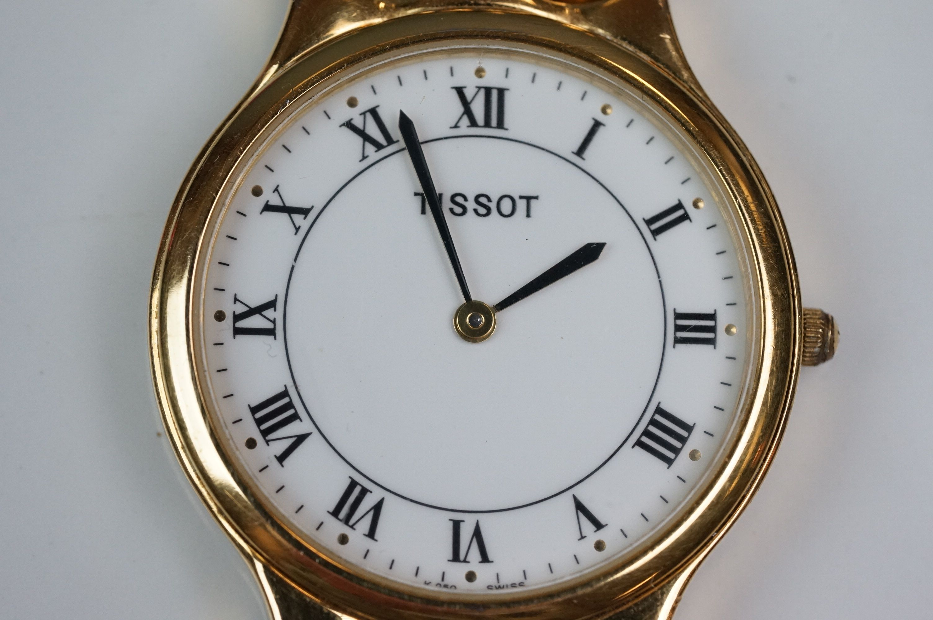 Tissot K250 gold plated dress watch - Image 2 of 10