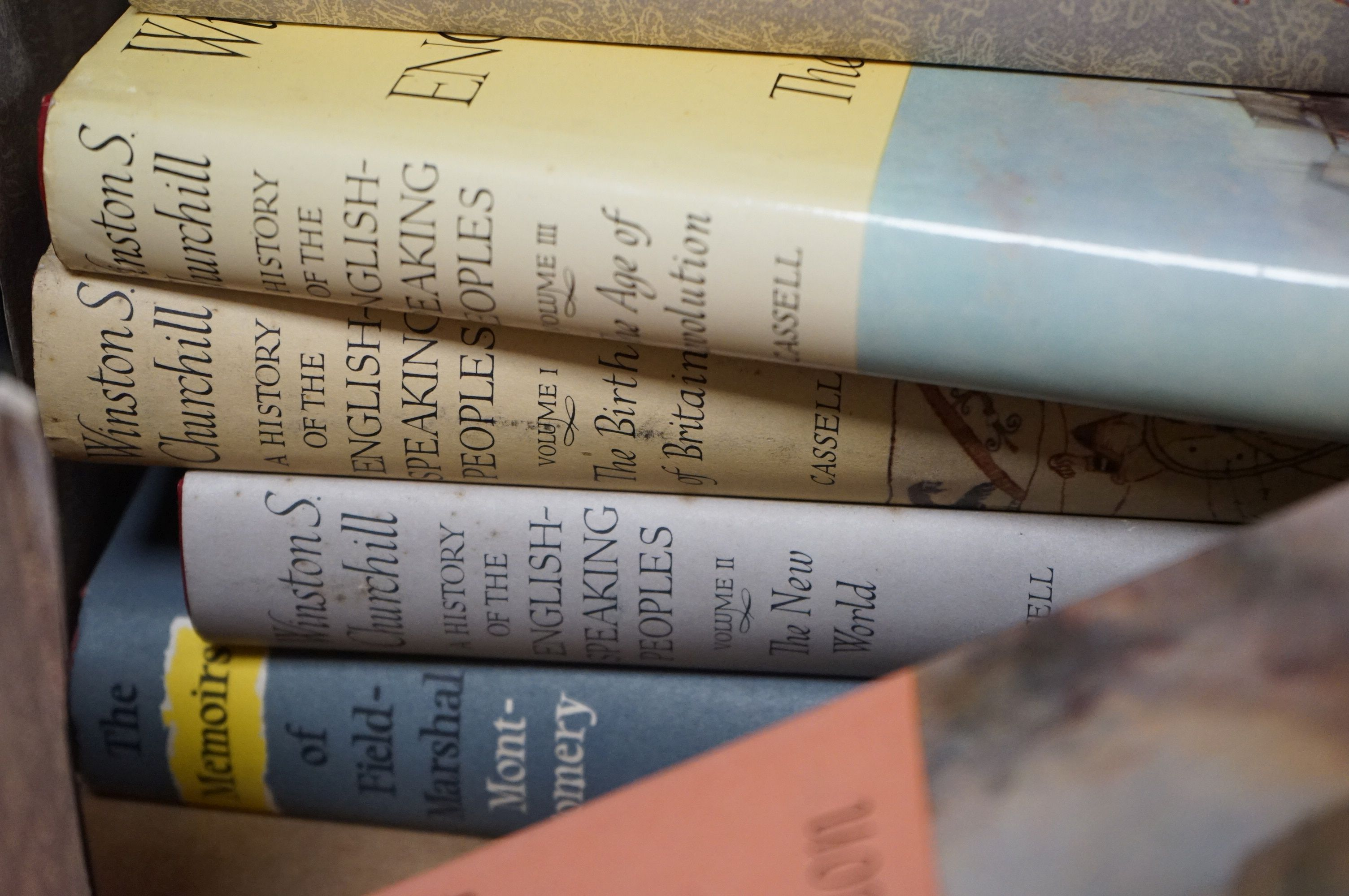 Churchill, Winston, The Second World War, 6 volumes, The History of the English Speaking Union - Image 4 of 4