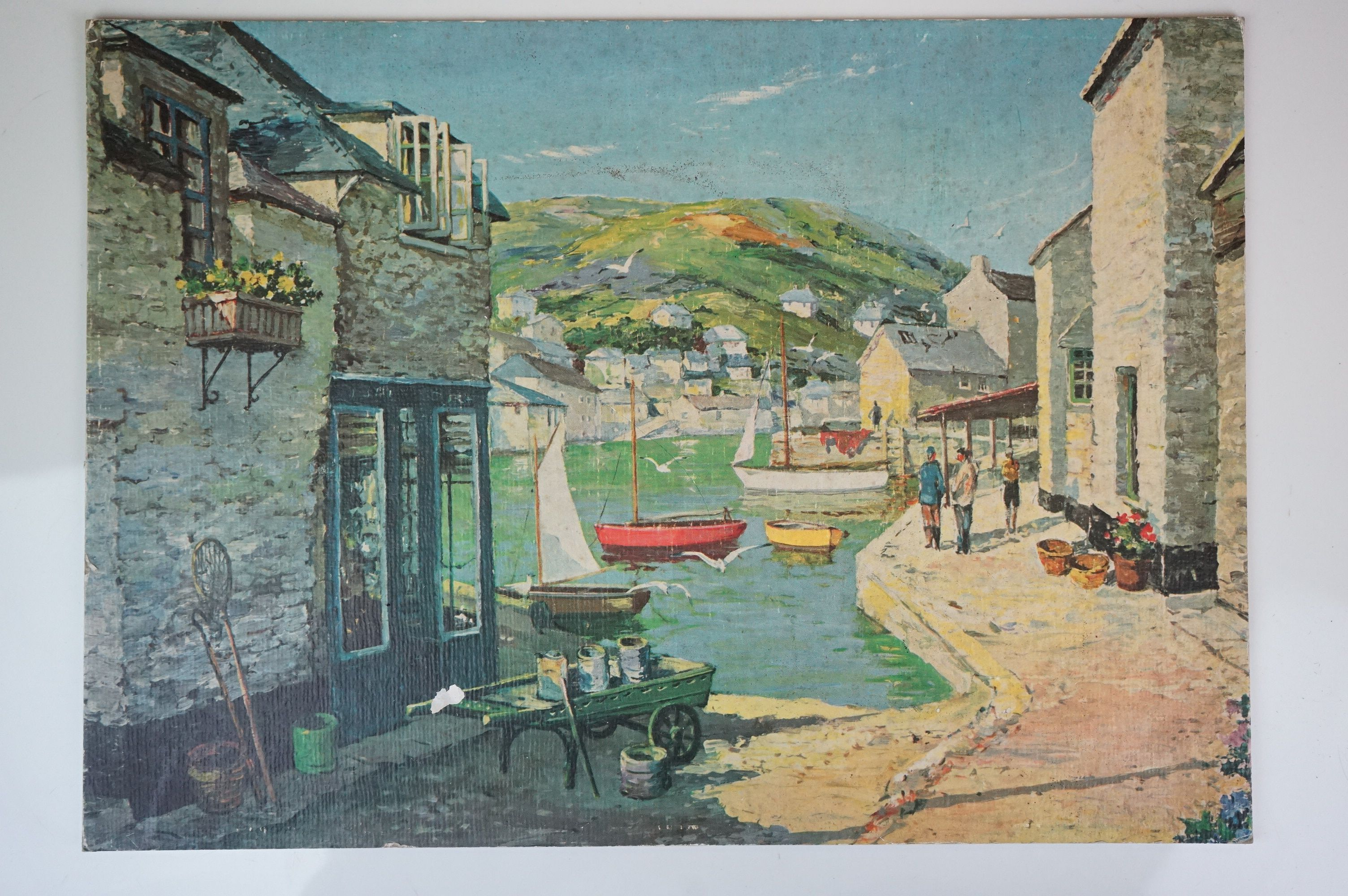Four Watercolours including Stone Bathhouse, all in matching frames and glazed together with a group - Image 9 of 15
