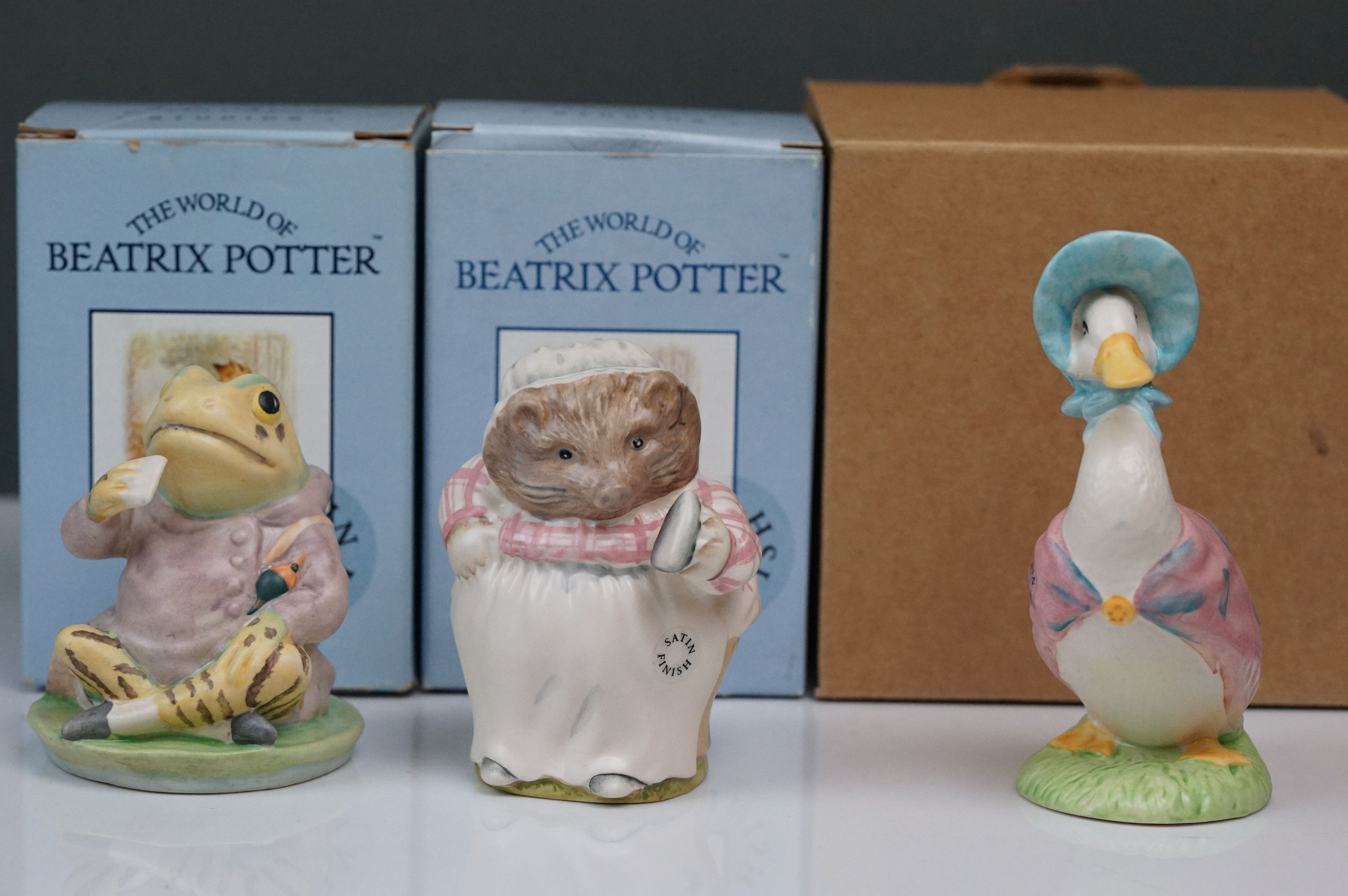 Beswick: the complete set of six satin finish figurines, all with Beswick backstamp 11A; all but one - Image 7 of 11