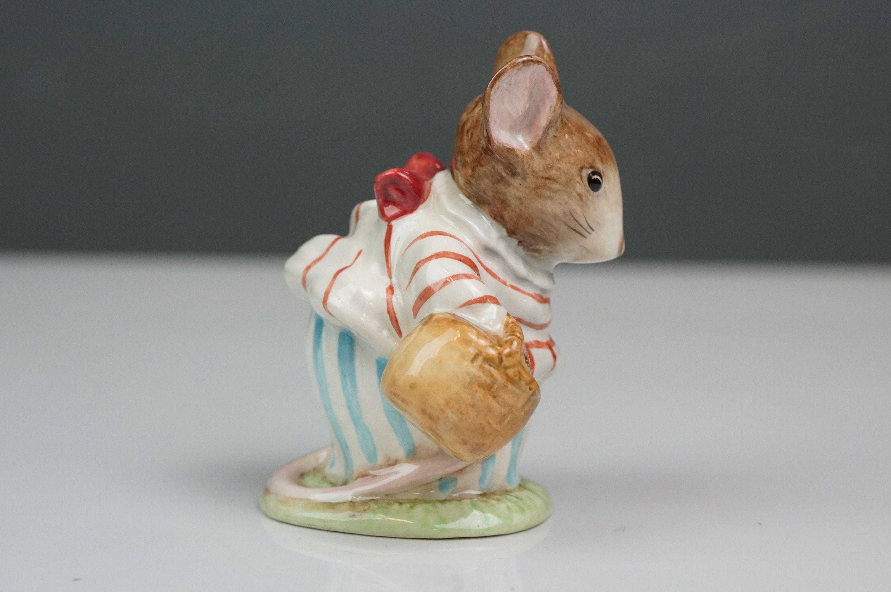 Beswick Beatrix Potter's Mrs Tittlemouse, style one, BP 1A No. 1103 - Image 2 of 5