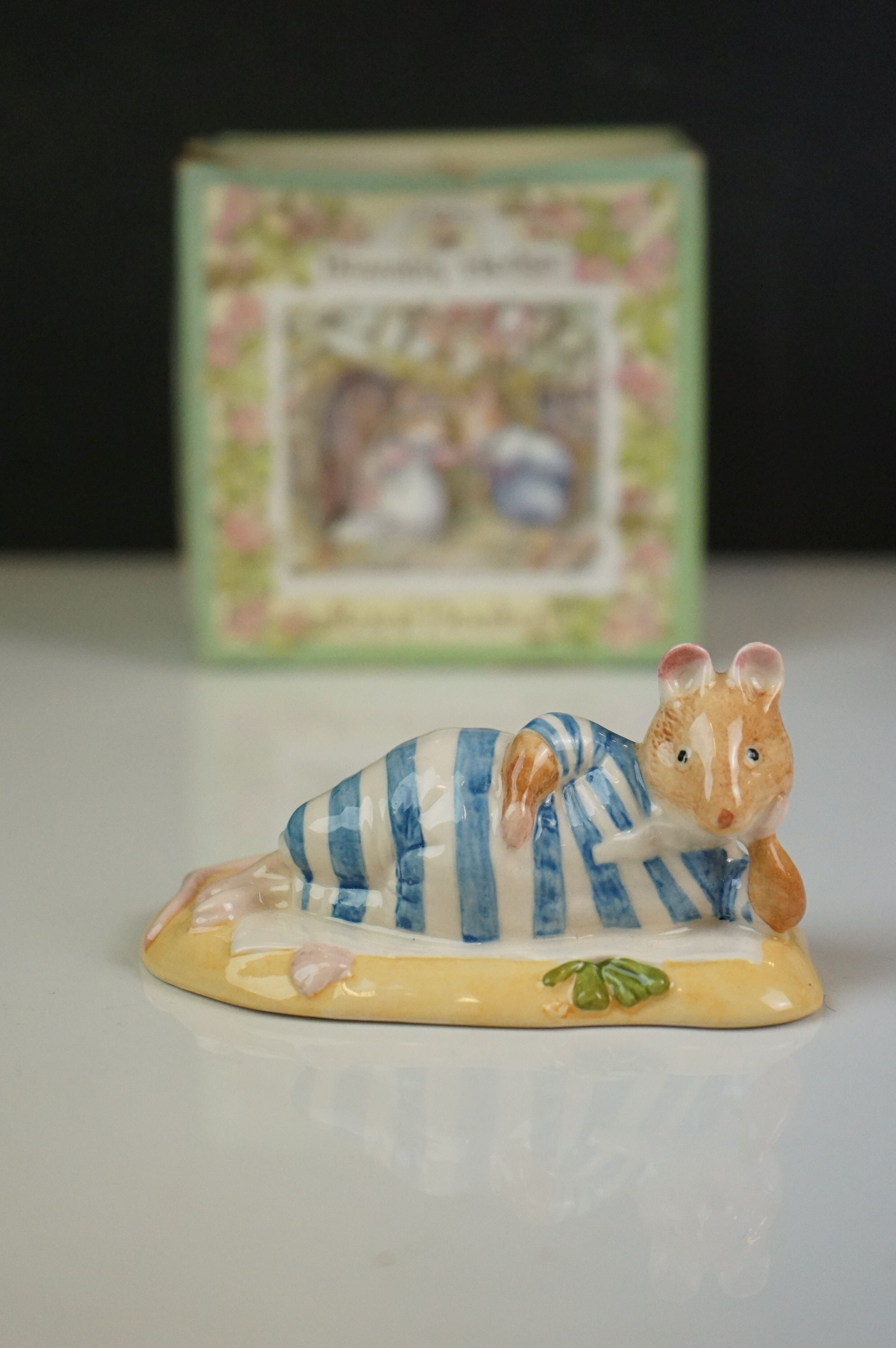 Five ceramic figures, to include Royal Doulton Mr Saltapple, Beswick Mrs Rabbit etc - Image 3 of 8