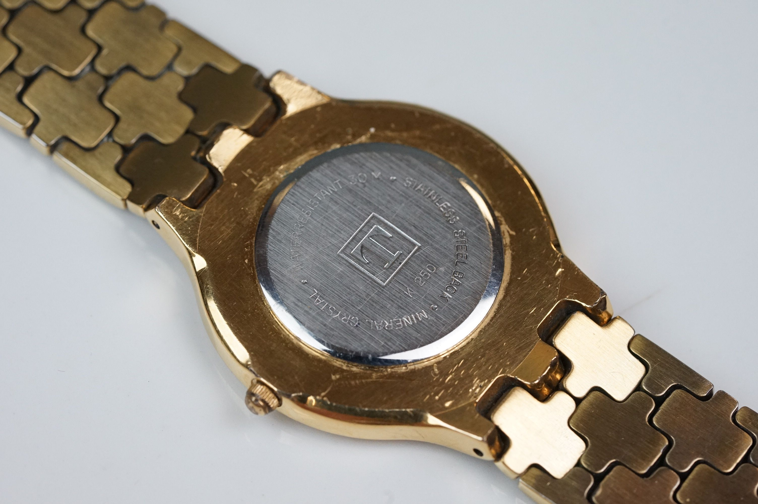 Tissot K250 gold plated dress watch - Image 6 of 10