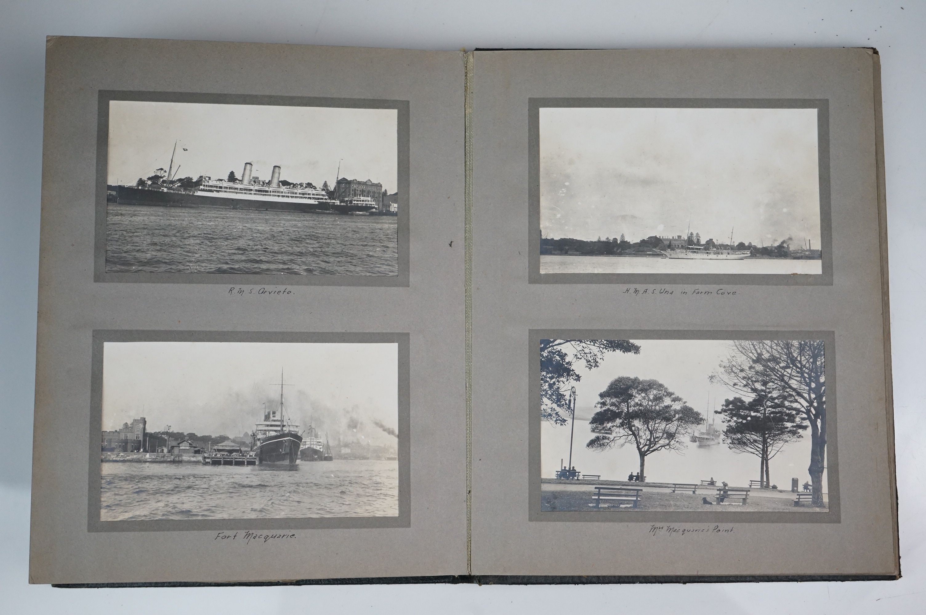A large collection of early 20th century postcards contained within an album, mainly printed - Image 9 of 11