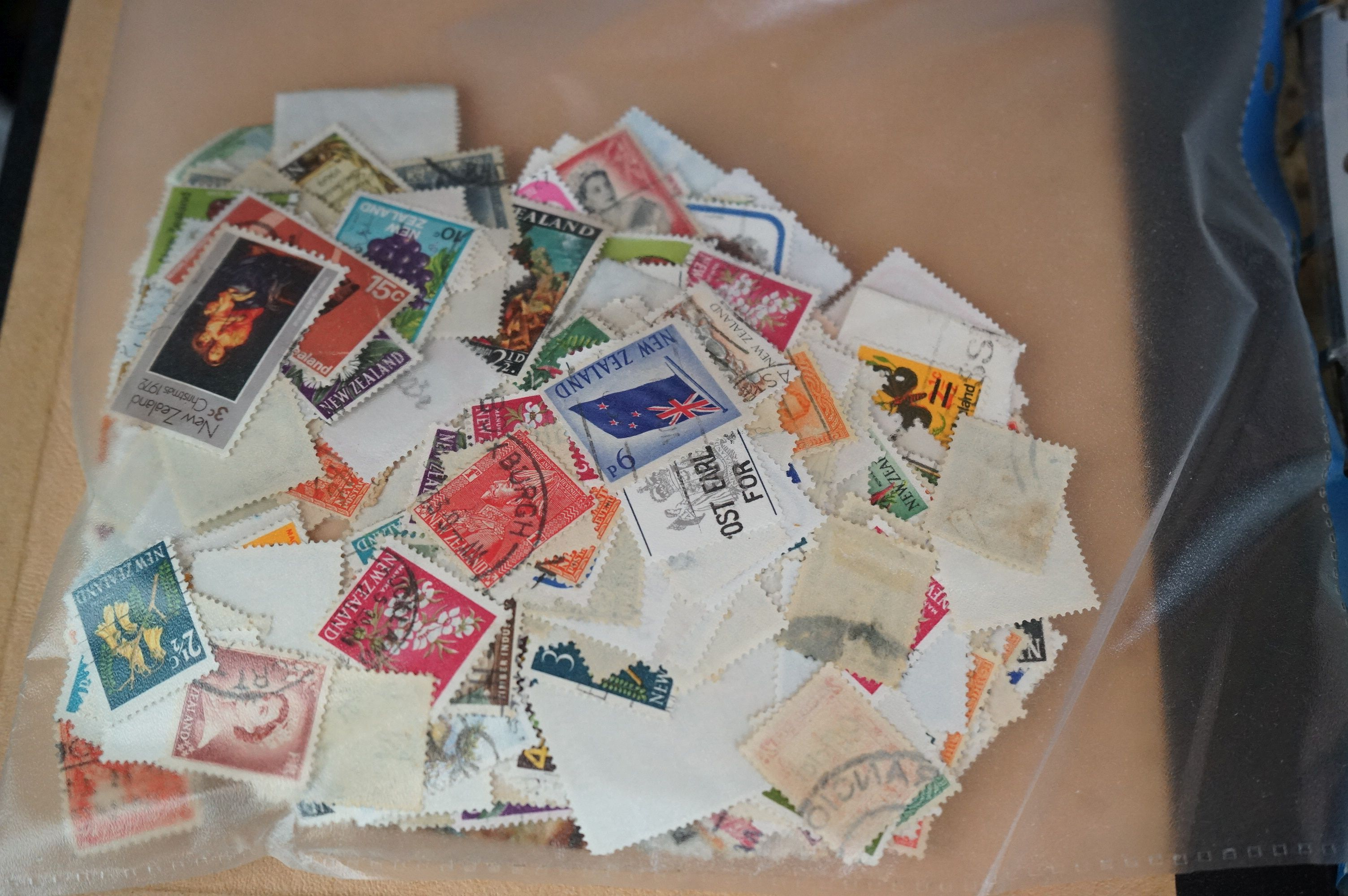 A large collection of British, Commonwealth and world stamps contained within albums. - Image 7 of 7