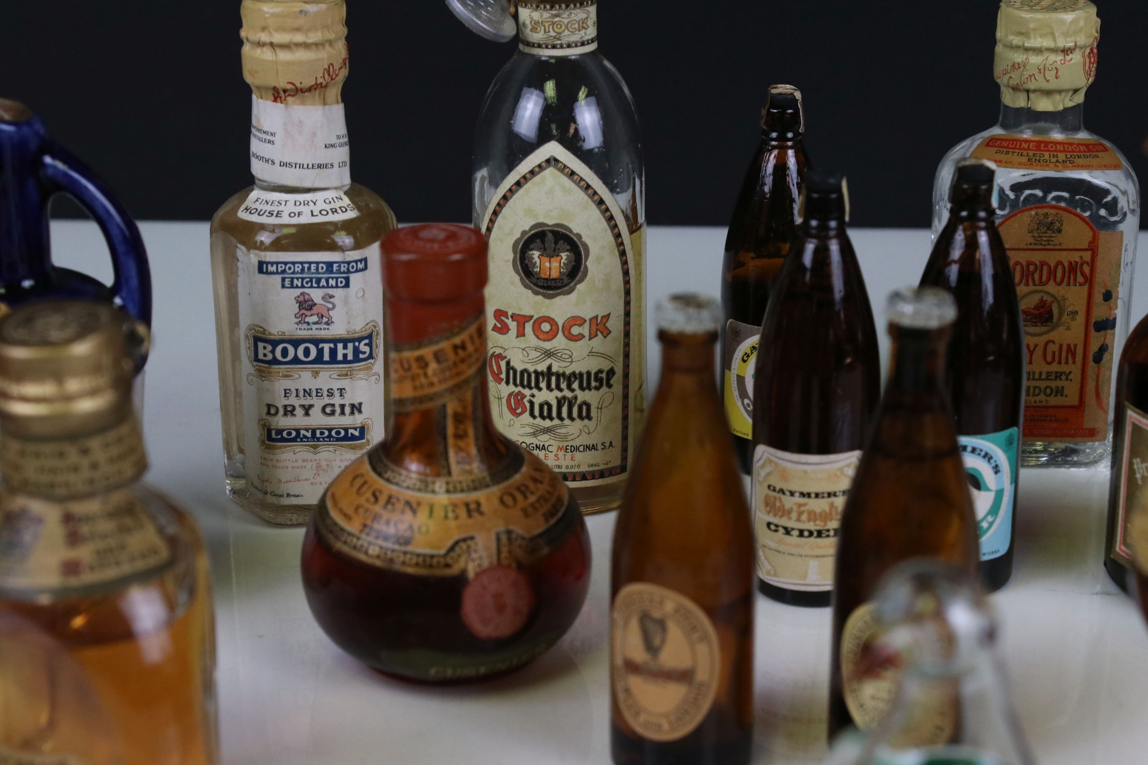 Collection of Miniature Spirits including Dimple Whisky plus Three Glass Bottles in the form of - Image 7 of 9