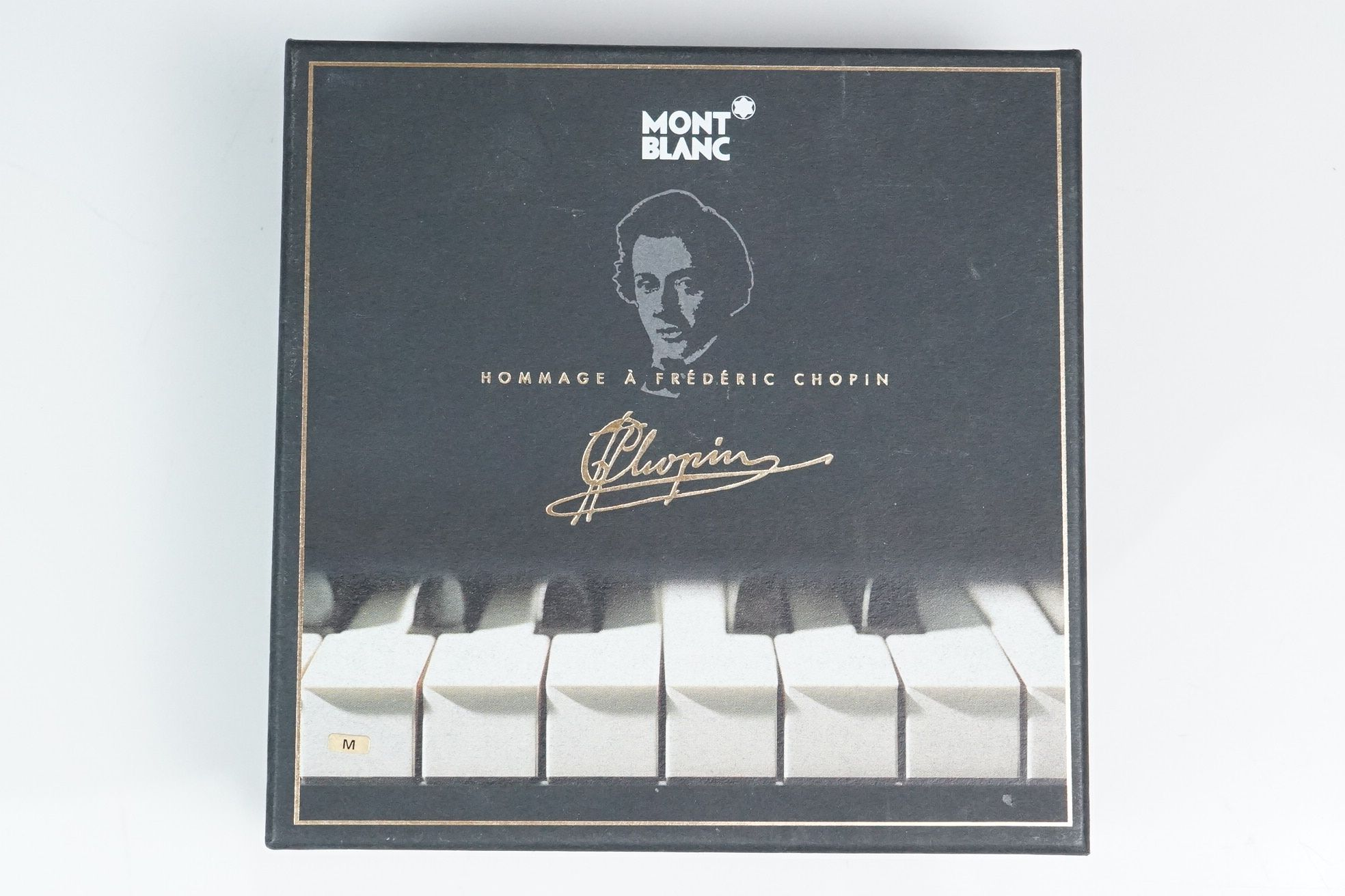 Mont Blanc Meisterstuck Hommage A Frederic Chopin fountain pen, model 145 M, with CD, service - Image 6 of 6