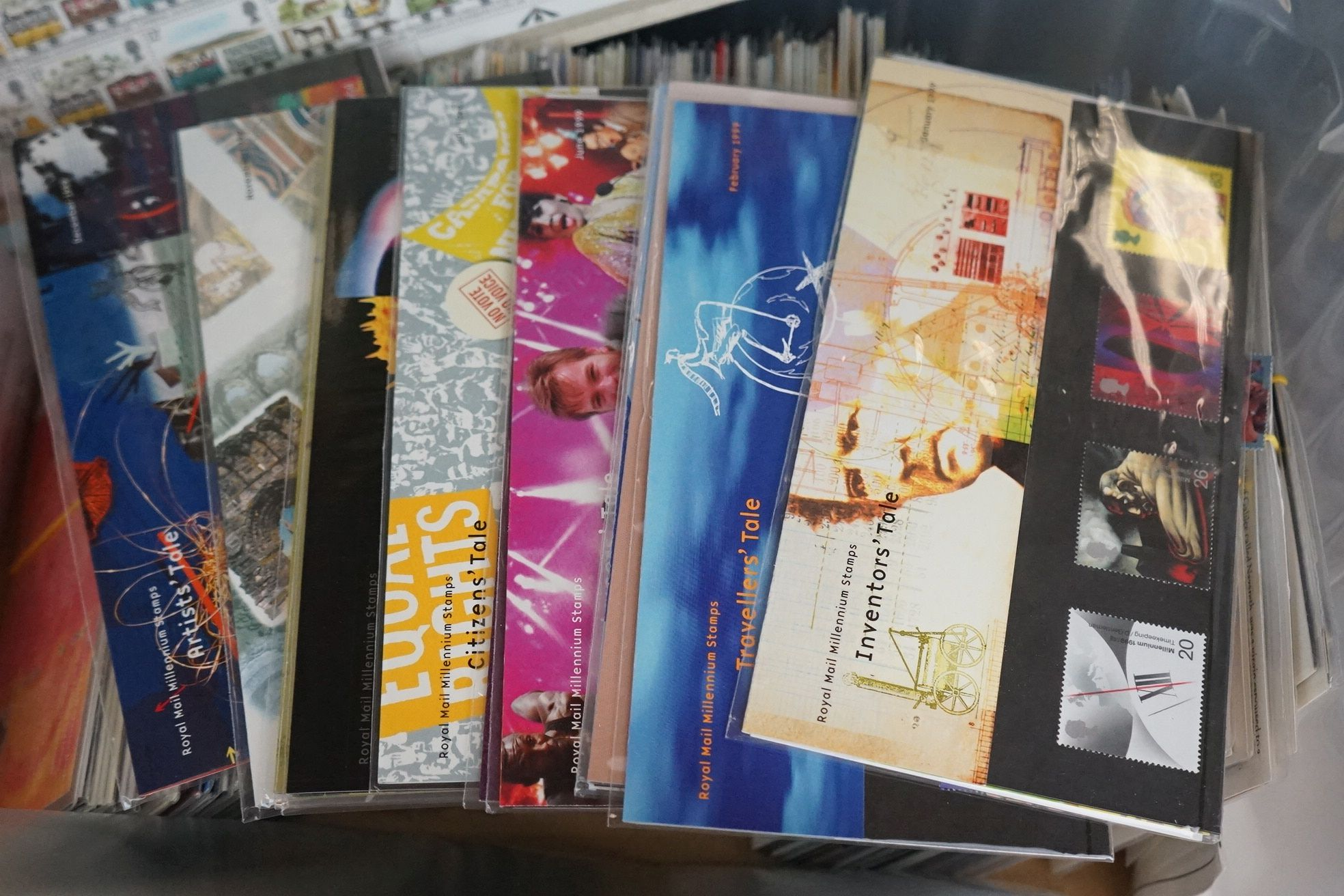 A large collection of mint Royal Mail stamp sets together with a large quantity of first day covers. - Image 4 of 4