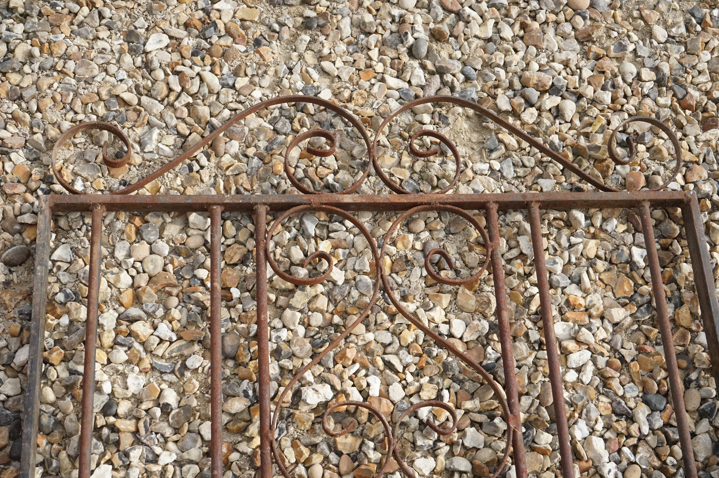 A vintage wrought iron Garden gate. - Image 2 of 5
