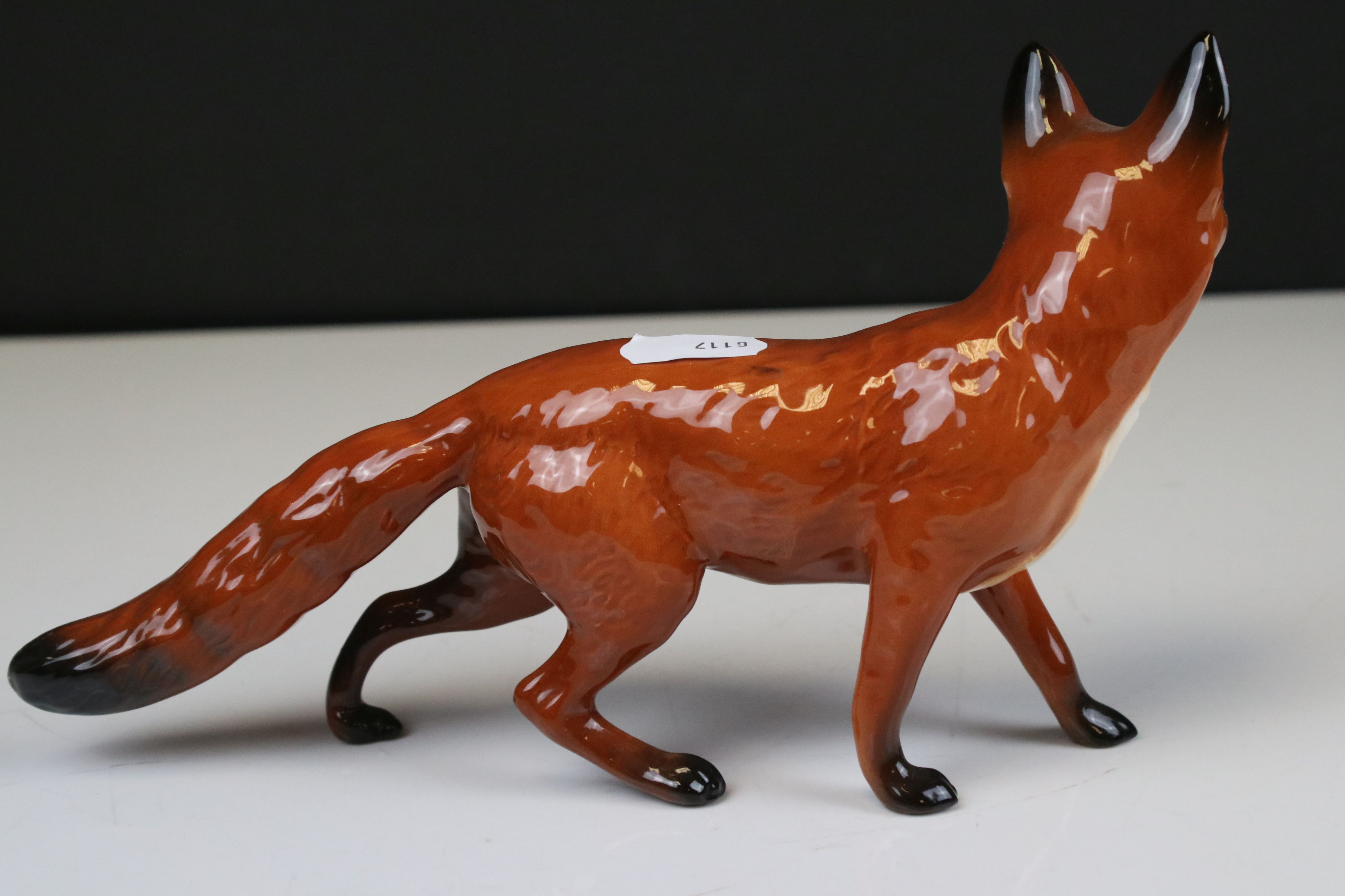 Two Beswick Foxes, (no. 1418 and 1016A) - Image 8 of 9