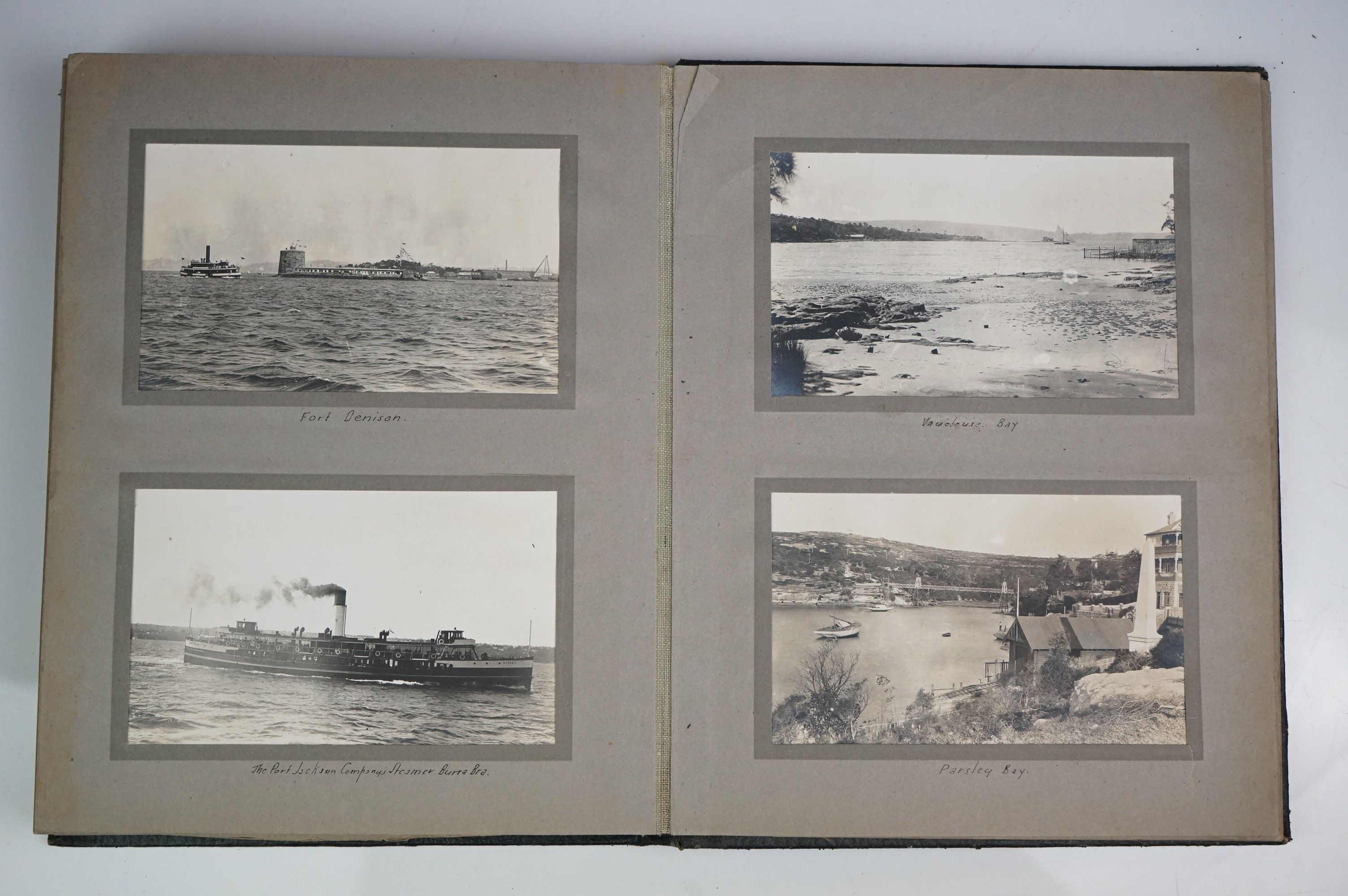 A large collection of early 20th century postcards contained within an album, mainly printed - Image 10 of 11