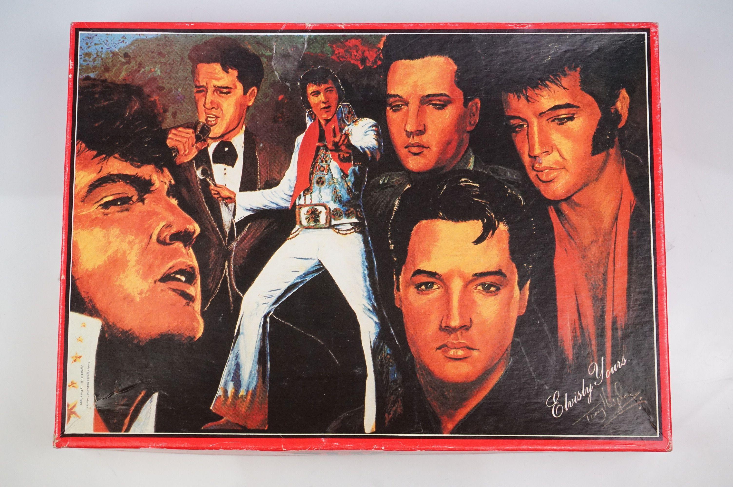 Elvis Presley memorabilia, to include Elvis Treasures, vintage jigsaw, Fruits Of The Loom Elvis T - Image 4 of 9
