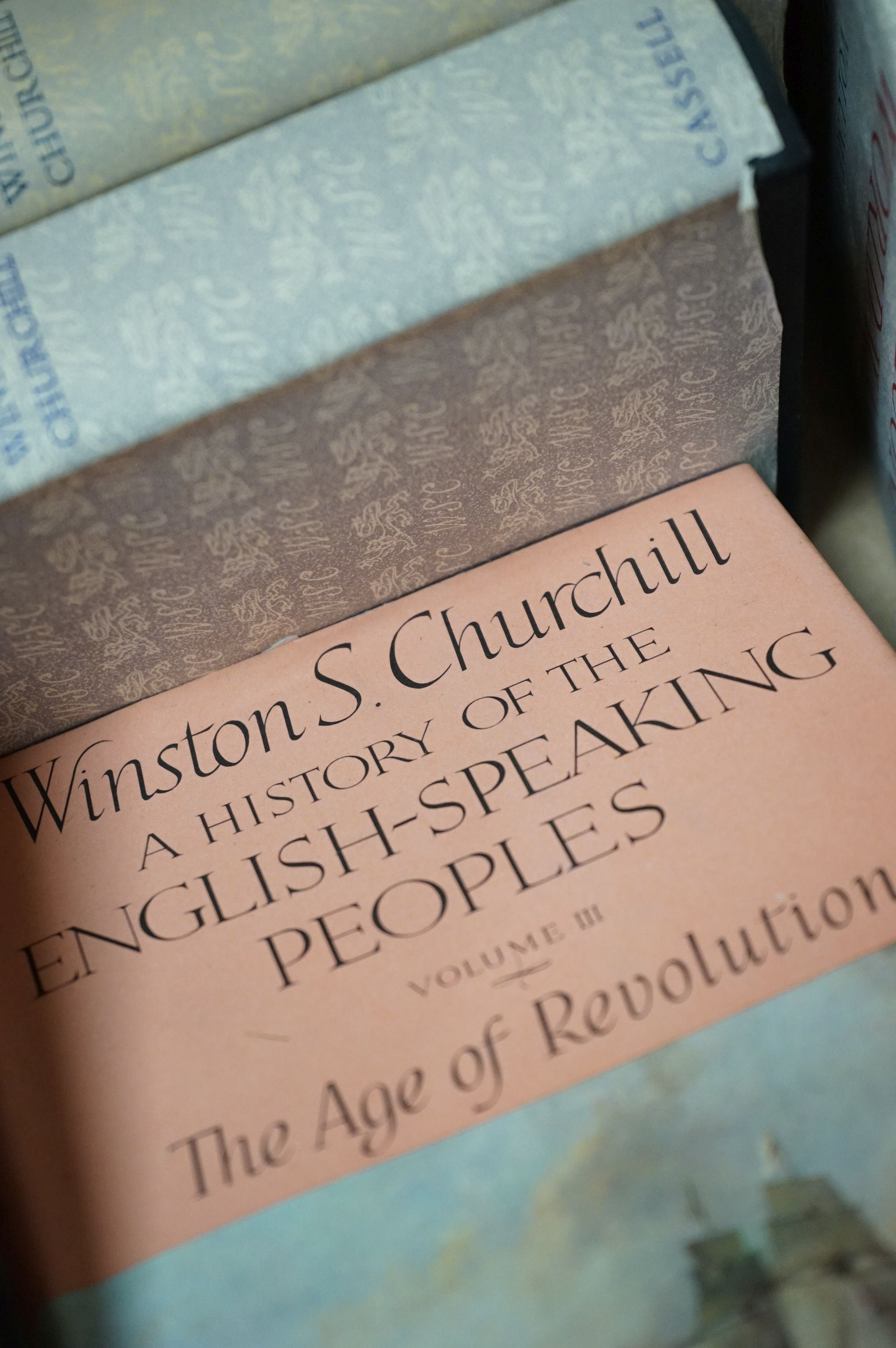 Churchill, Winston, The Second World War, 6 volumes, The History of the English Speaking Union - Image 3 of 4
