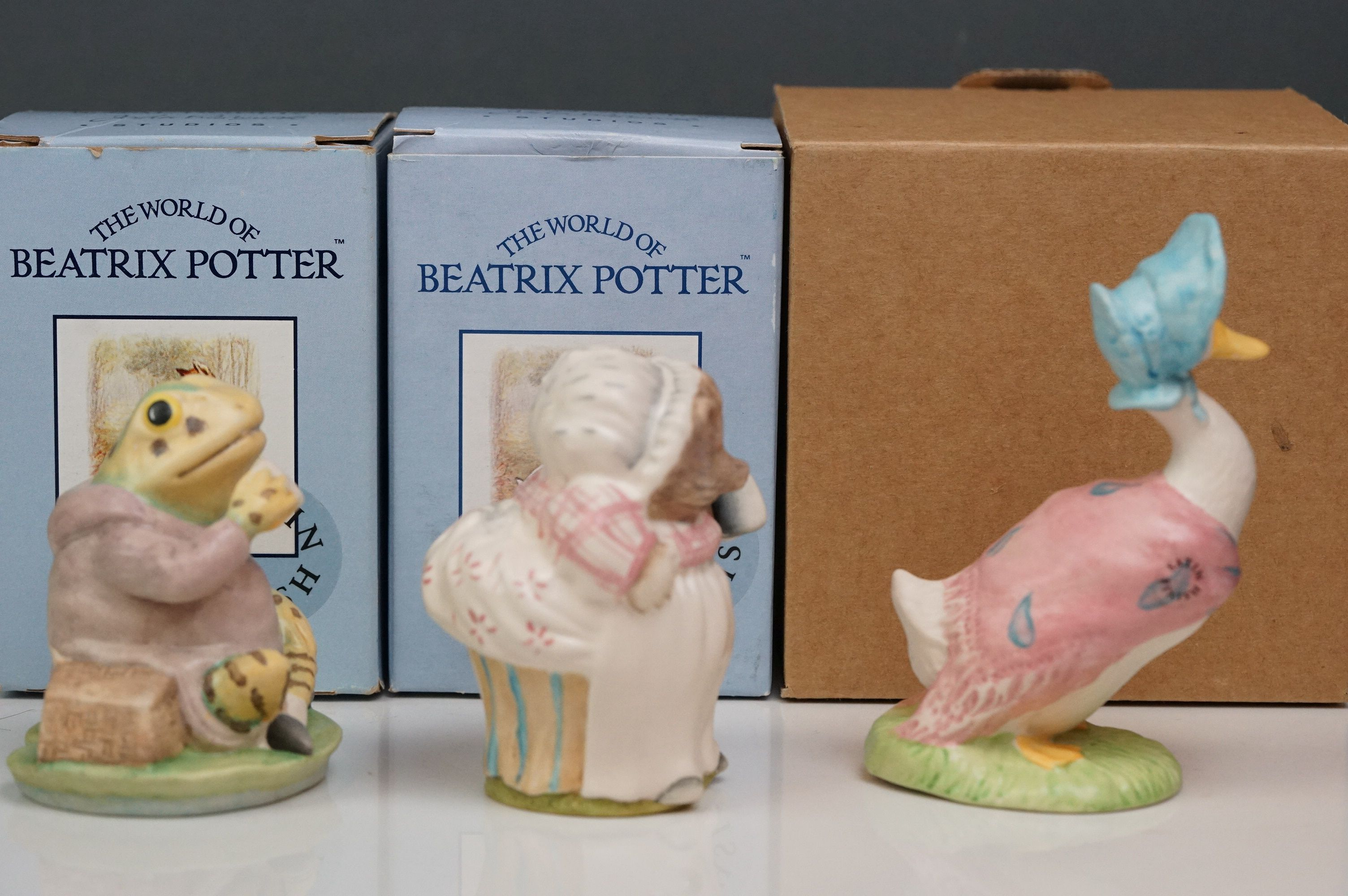 Beswick: the complete set of six satin finish figurines, all with Beswick backstamp 11A; all but one - Image 8 of 11