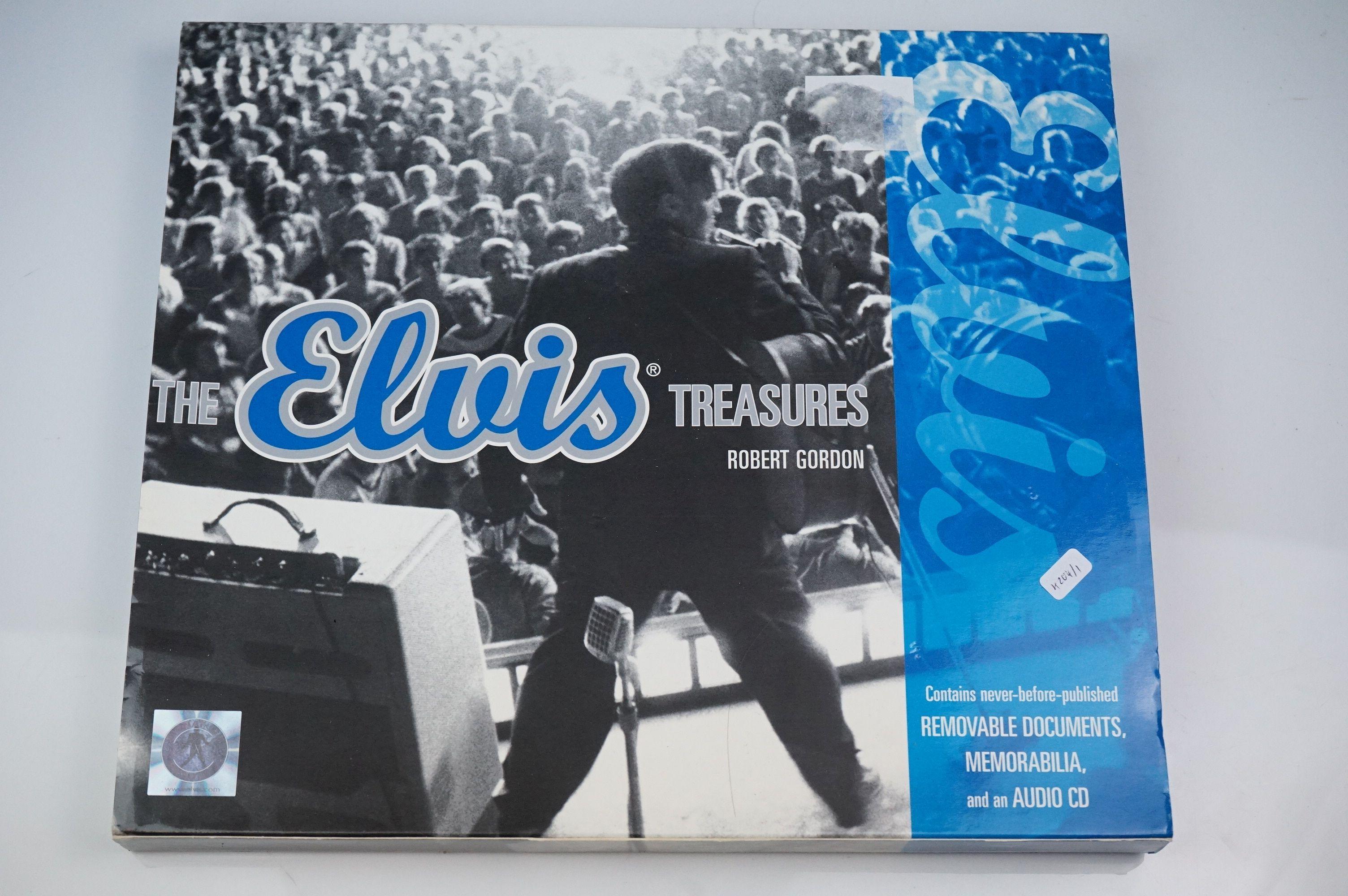 Elvis Presley memorabilia, to include Elvis Treasures, vintage jigsaw, Fruits Of The Loom Elvis T - Image 6 of 9