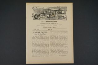 1910/11 Fulham Reserves v Swindon Town Reserves football programme 11th March 1911, previously bound