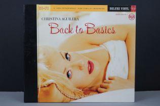 Vinyl - Christina Aguilera Back To Basics Deluxe 3 LP on RCA 82876826391, ex