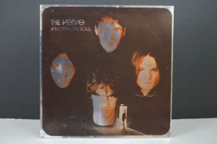 Vinyl - The Verve Northern Soul LP on Hut HUTLP27, with inners, sideC/D well used and showing marks,