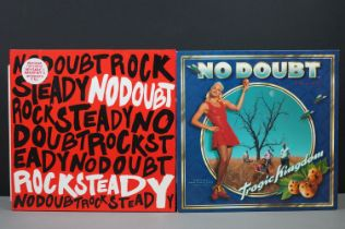Vinyl - Two No Doubt LPs to include Tragic Kingdom on Trauma Records 92580-1 with lyric sheet,