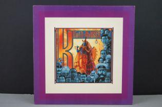 Vinyl - Kula Shaker K LP on Columbia SHAKER1LP LC0162, with inner, couple of marks to vinyl
