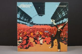 Vinyl - Chemical Brothers Surrender LP on Freestyle Dust XDUSTLP4, inner sleeves, sleeves & vinyl