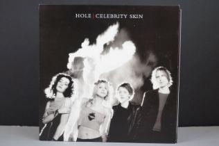 Vinyl - Hole Celebrity Skin LP on Geffen GEF25164, with inner, ex/nm