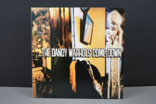 Vinyl - The Dandy Warhols Come Down LP on Tim Kerr Records TK167-1 brown marble 2LP vinyl, ex