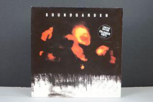 Vinyl - Soundgarden SuperUnknown LP on A&M 5402151ltd edn coloured vinyl, with lyric sheets, vg+