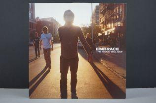 Vinyl - Embrace The Good Will Out 2 LP on Hut HUTDLP46, sleeves vg+, vinyl ex