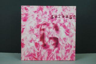 Vinyl - Garbage self titled Double LP on Mushroom L31450, with both inner sleeves, sleeves vg+,
