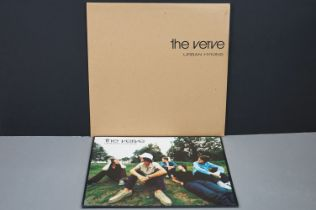 Vinyl - The Verve Urban Hymns LP on Hut HUTLPX45 printed outer mailer version, vg++
