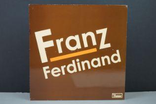 Vinyl - Franz Ferdinand self titled LP on Domino WIGLP136, some sleeve wear, vinyl ex