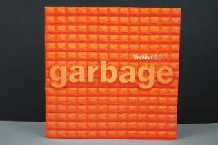 Vinyl - Garbage Version 2.0 LP on Mushroom MUSH29LP, with inner sleeve, sleeve vg+, vinyl ex