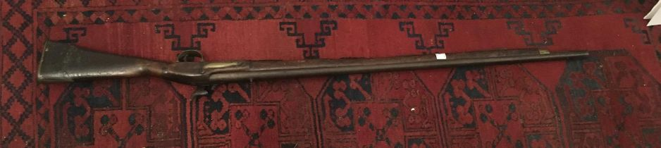 """19 th century Musket, decorative purposes only, 55"""" tall 25"""