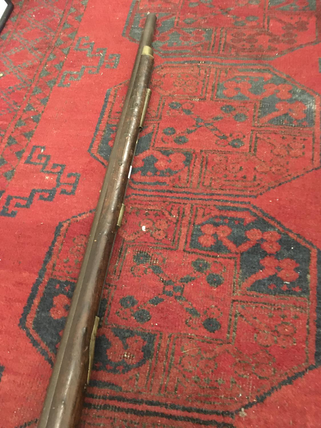 """19 th century Musket, decorative purposes only, 55"""" tall 25 - Image 4 of 4"""