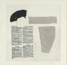 Dr Bren URWIN (British b. 1956)Sancreed, Monotype, Signed lower right, The Great Atlantic Gallery