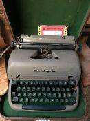 BOXED REMINGTON TYPEWRITER