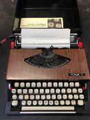 CASED ROYAL 240 TYPEWRITER - GOOD CONDITION