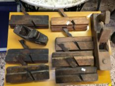 QTY OF WOODEN PLANES A/F