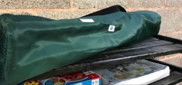 FOLDING CAMPING CHAIR IN CARRIER